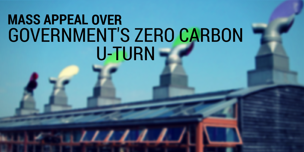 Mass industry appeal over government's zero carbon U-turn