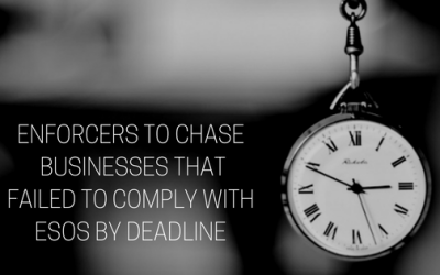 Time is running out for businesses that are still non-compliant with ESOS as enforcers warn they will issue fines!