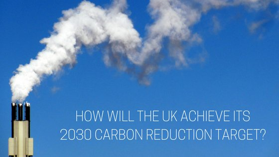 New strategy is needed if the UK's 2030 carbon reduction target is to be met
