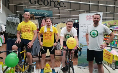 Charity cycle from Leeds to London in 24hrs