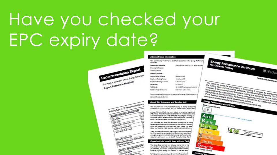 Have you checked your property's EPC expiry date?