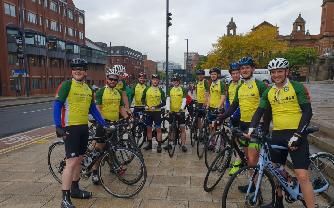Leeds to London bike ride success!