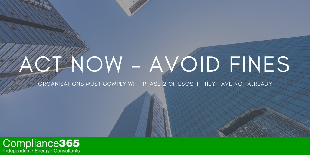 ESOS Phase 2 Act Now – Avoid Fines