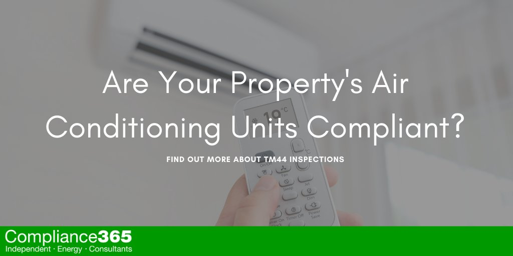 Are Your Property's Air Conditioning Units Compliant?