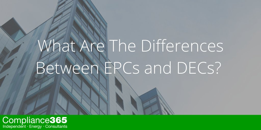 What Are The Differences Between EPCs and DECs?