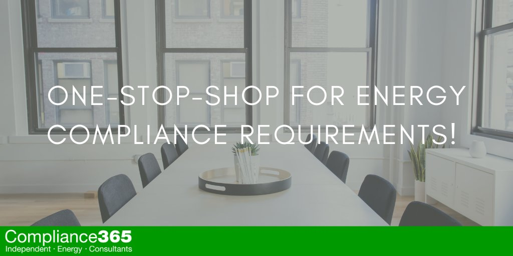 One-Stop-Shop For Energy Compliance Requirements!
