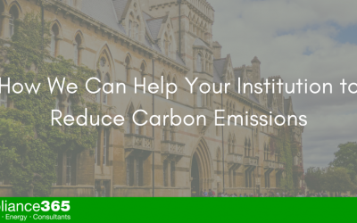 How We Can Help Your Institution to Reduce Carbon Emissions